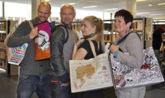 Bibliotheek Hoorn had een Tassenontwerpactie, die ook online veel aandacht kreeg.