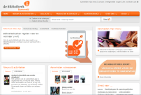 Websitebeheer voor bibliotheken door Webbieb