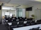 Impressie trainingsruimte WebbiebNL in Utrecht