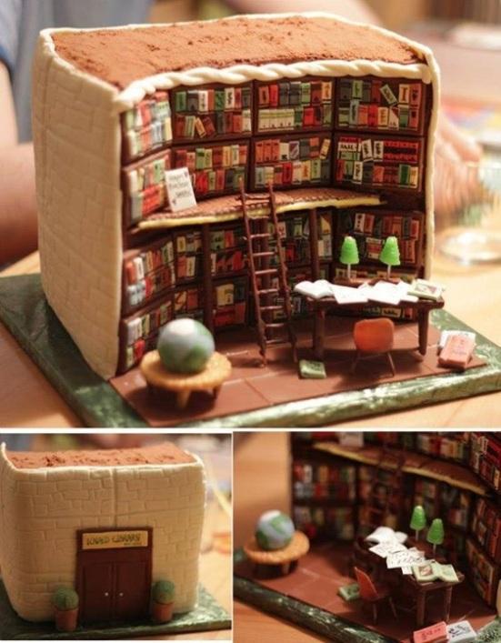 De bibliotheektaart, ook een stuk?
