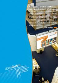 Nieuw bij WebbiebNL - narrow casting voor bibliotheken
