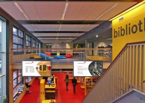 Webbieb narrowcasting speciaal voor toepassing in de bibliotheek