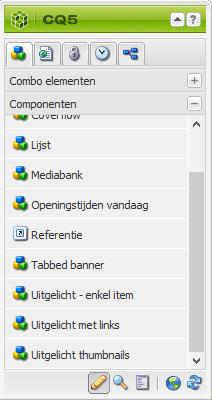 Referentie component