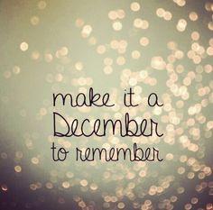 december remember