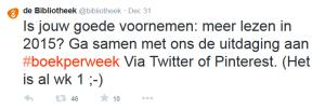 Boekperweek