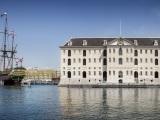 De bibliotheek van het Scheepvaartmuseum
