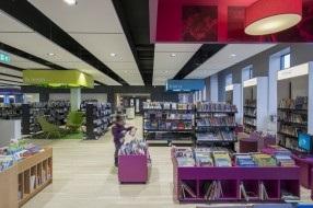 Bibliotheek Waddinxveen, de 1e verdieping
