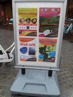 Stoepbord voor je bibliotheek | marketing inkoppers voor je bibliotheek