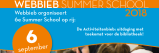 Doe mee aan de Summer School 2018!