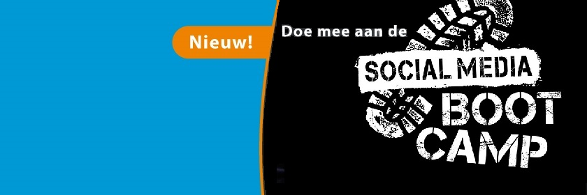 Doe mee aan de Social Media Bootcamp