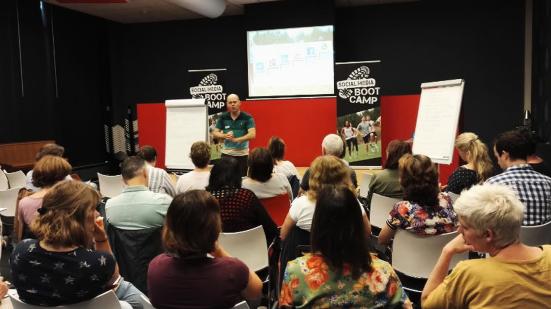 Social Media Bootcamp voor Werkzoekenden en Ondernemers Webbieb